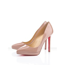 5fcea358749c Christian Louboutin Pigalle Nude Pumps Discount Outlet SaleFree ...